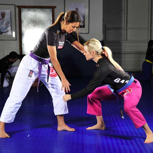 BJJ vrouwen training